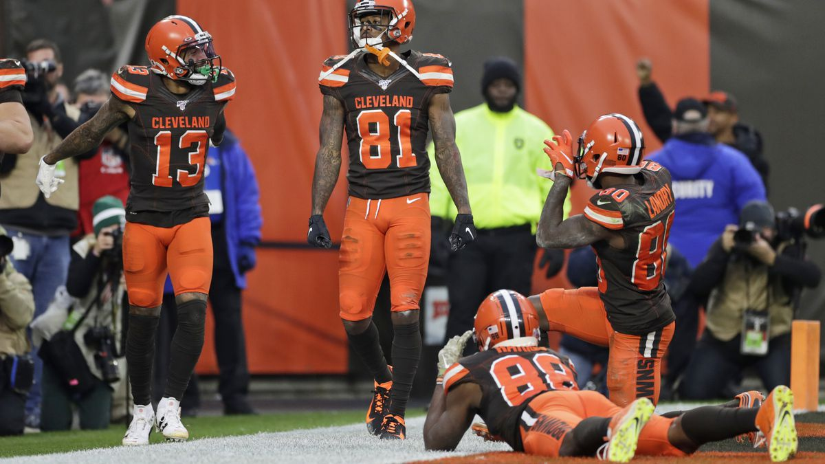 Cleveland Browns WR Rashard Higgins said he dreamed of scoring in game against Buffalo Bills