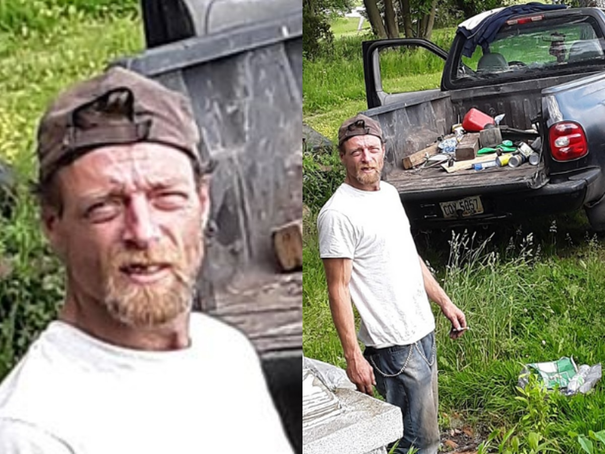 Busted! Deputies arrest man caught 'helping himself' to Wayne County homeowner's property