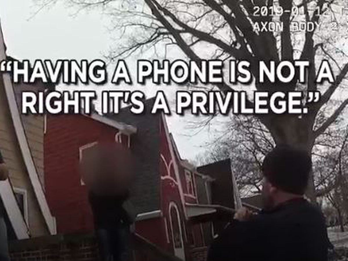 South Euclid police defend dad's decision to take away cell phone after daughter calls 9-1-1 on him (video)