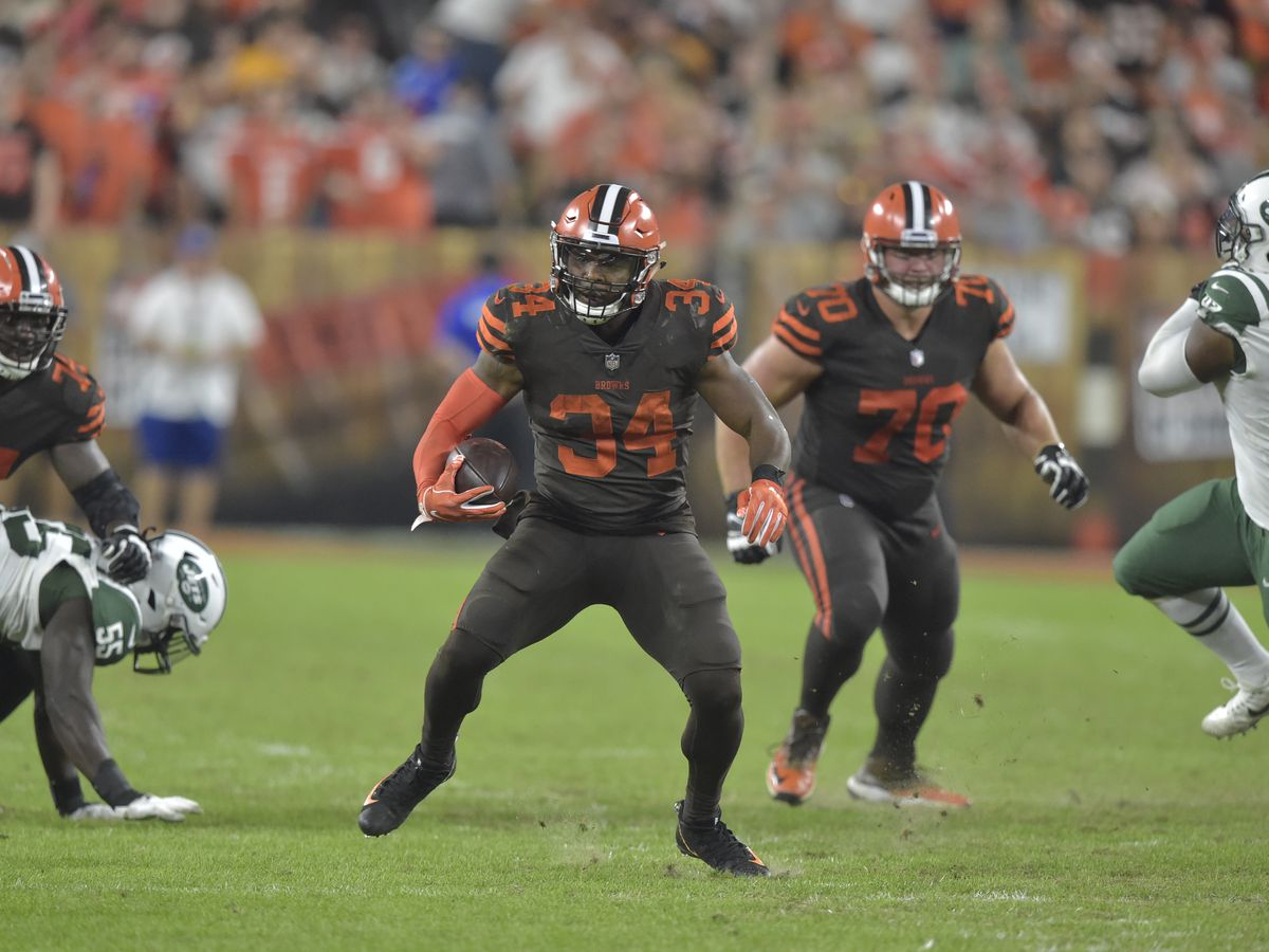 Cleveland Browns trade running back Carlos Hyde, report says
