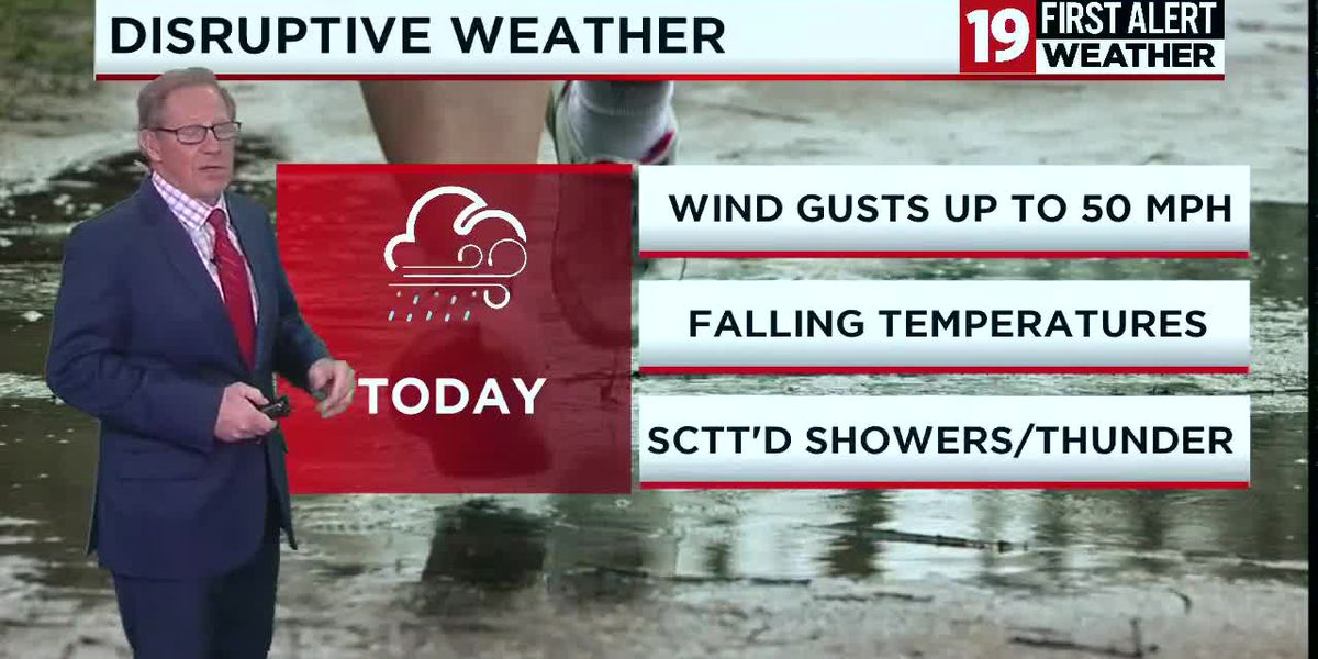Northeast Ohio weather: Wind advisory for gusts up to 50 mph until 8 p.m.