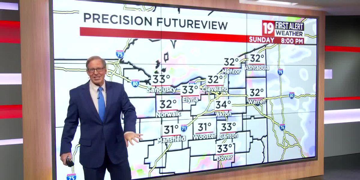 Northeast Ohio weather: Finally! A little measurable, January snow
