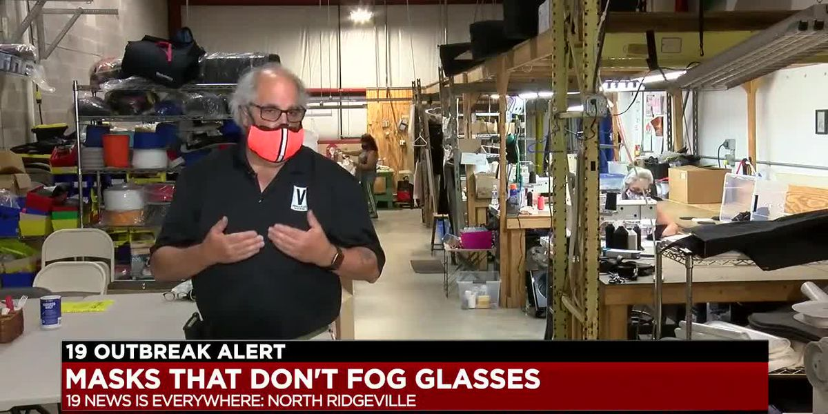 North Ridgeville factory making masks for people with glasses
