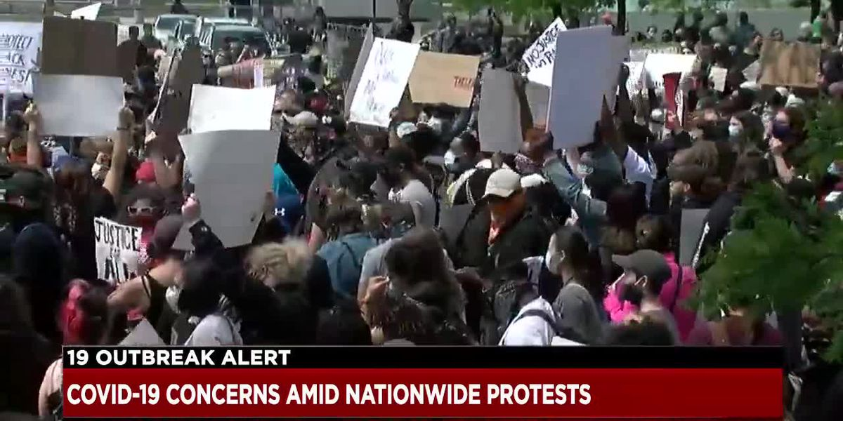 Nationwide protests could trigger spike in Covid-19 cases