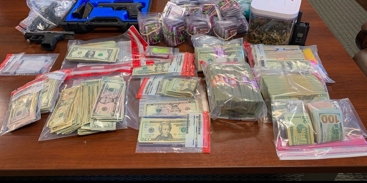 Authorities find drugs, cash, gaming machines, guns during Portage County bust