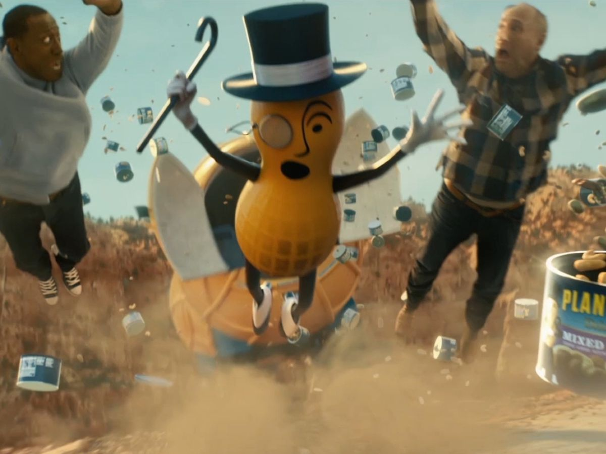 Super Bowl commercial: Mr. Peanut is dead