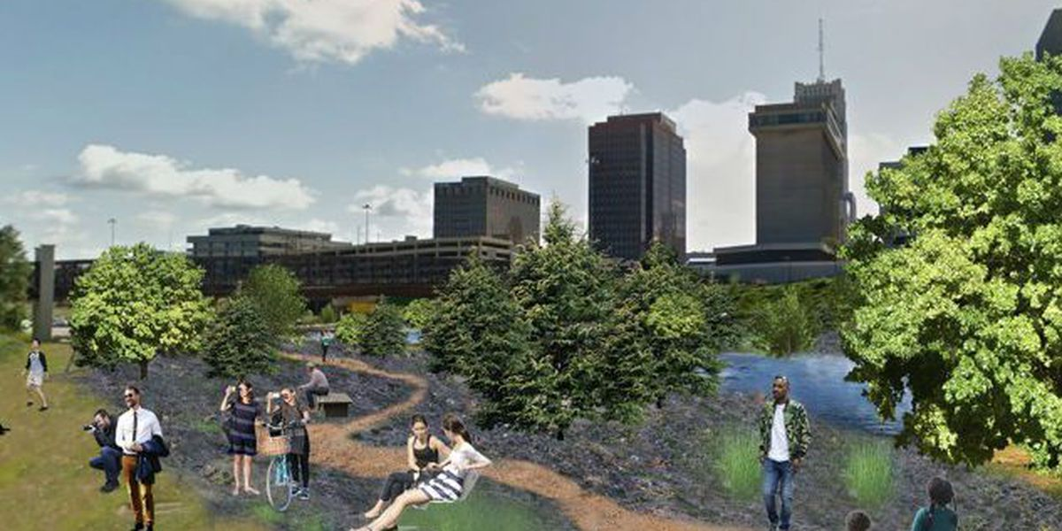Akron freeway to be transformed into a pop-up forest