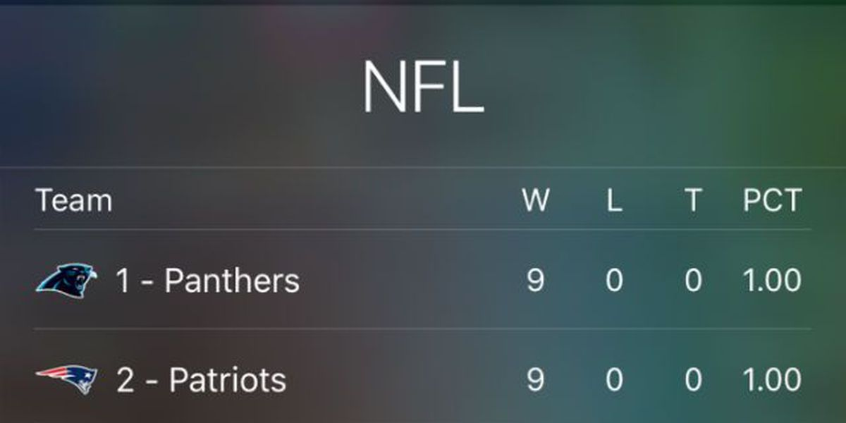 Siri roots for the underdog, who she believes are the Browns