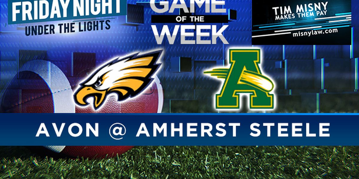 High School Football Game of the Week Avon vs. Amherst