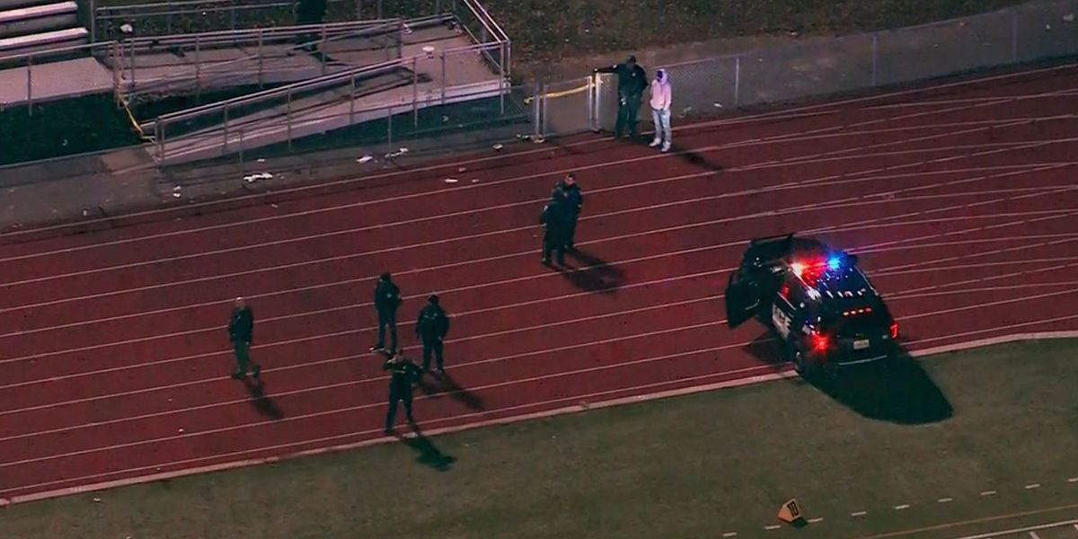 Chaos ensues as gunshots are fired at high school football game