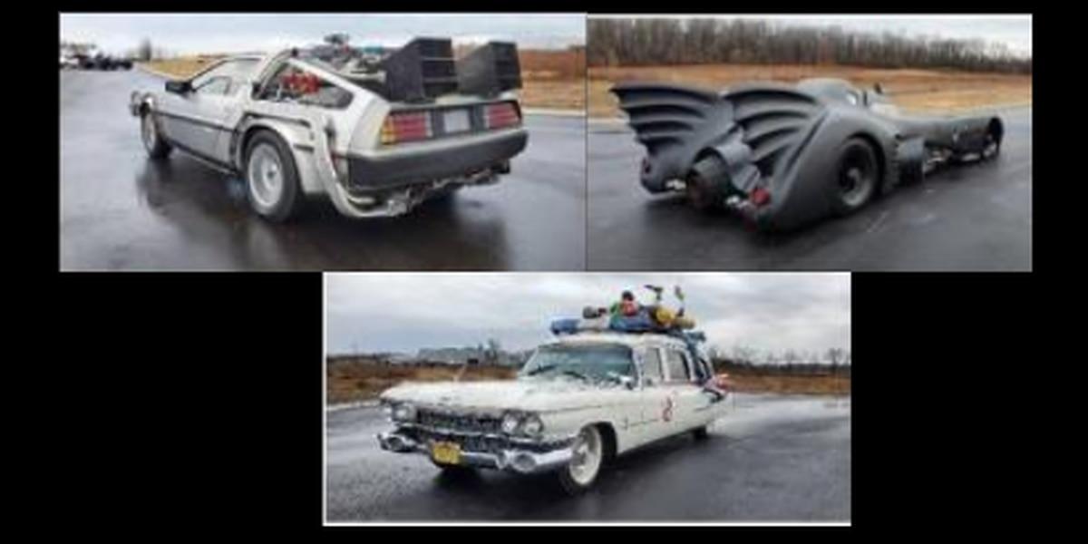 'Back to the Future' DeLorean, Batmobile and Ectomobile replicas auctioned off in Ohio for over $500,000
