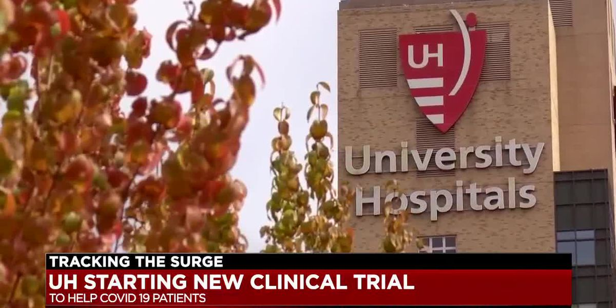 University Hospitals will begin clinical trial aimed at helping COVID-19 patients recover quicker