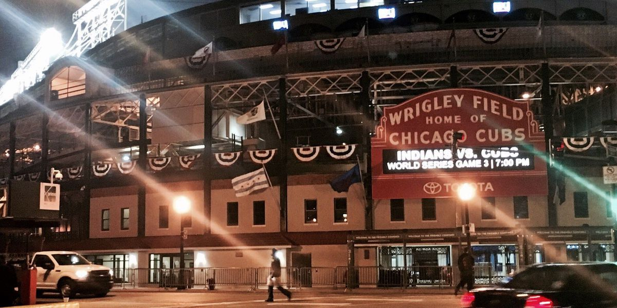 Indians fans tough to find ahead of Game 3 in Chicago