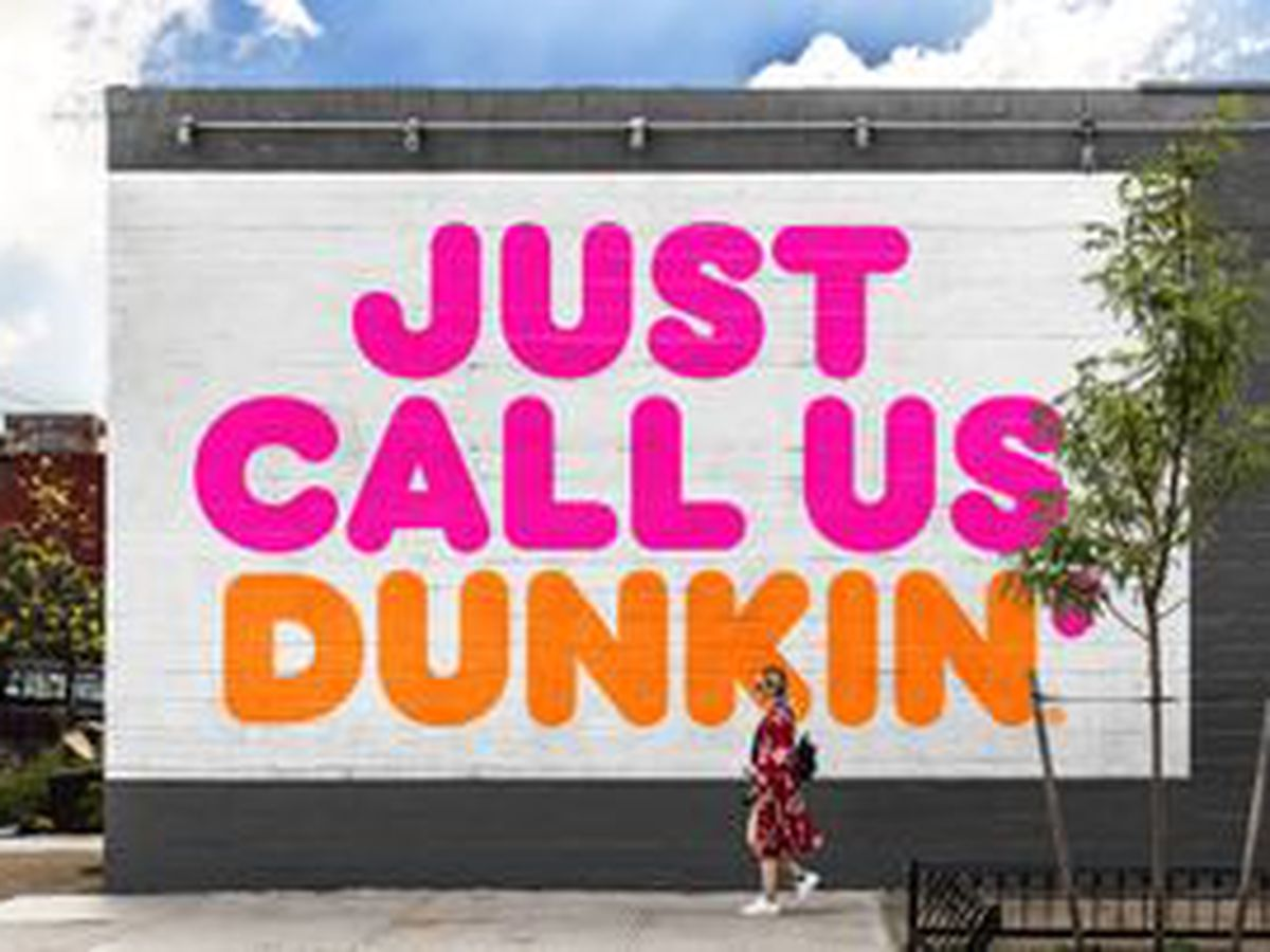 Skip the 'Donuts' and just call them Dunkin'