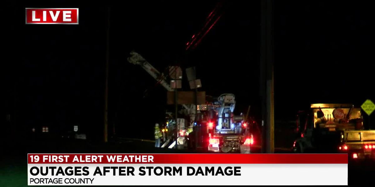 Over 7,000 FirstEnergy customers without power due to severe weather