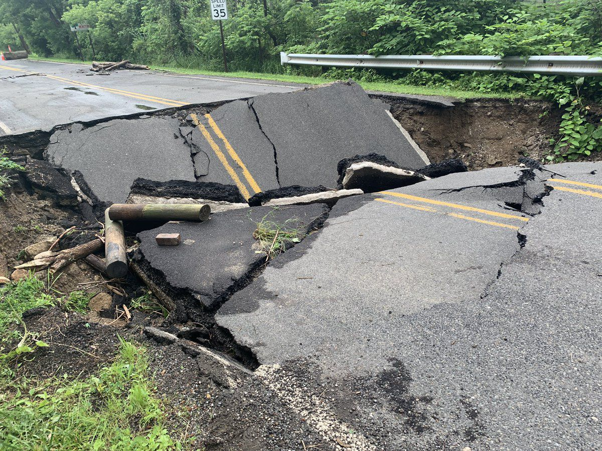 Roads collapse in Summit County, municipalities at odds over who's responsible for the fix