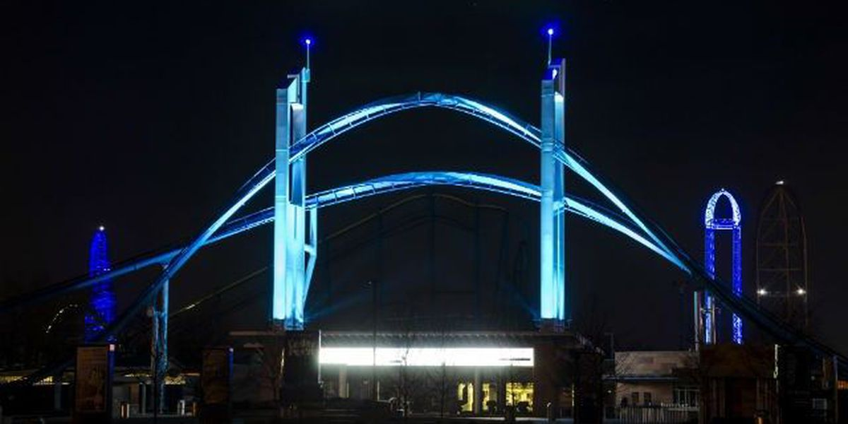 Cedar Point getting the blues for autism awareness