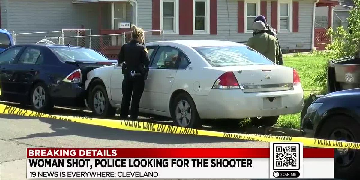 Woman shot on Cleveland's West Side drives several miles before crashing and getting help