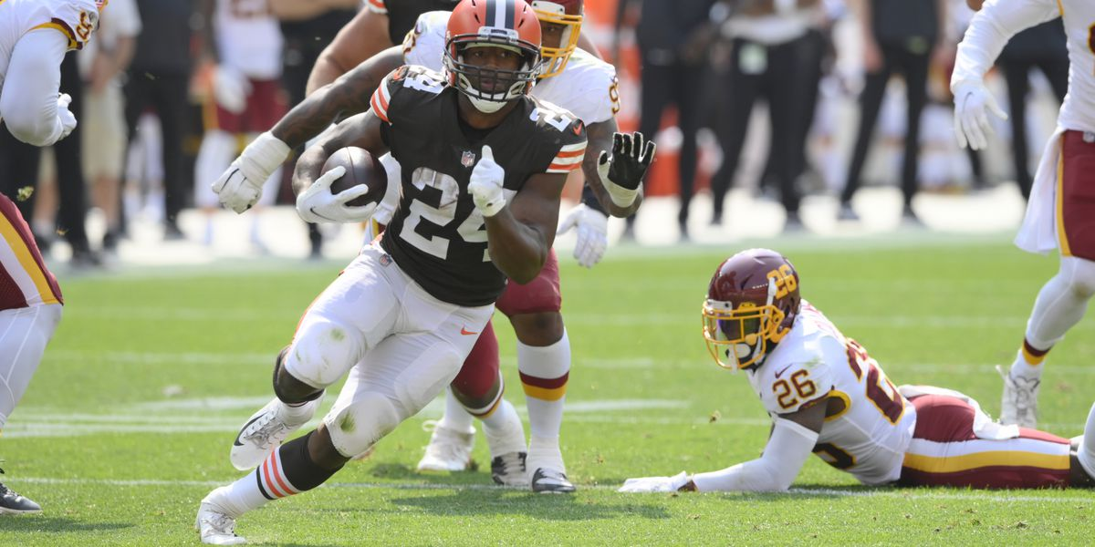 Cleveland Browns activate RB Nick Chubb from injured reserve