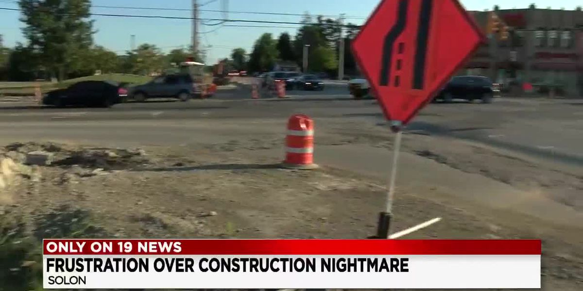 Multiple construction projects make it a slow go in Solon
