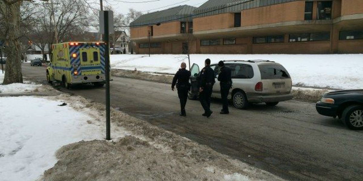 Student struck by vehicle outside MLK High