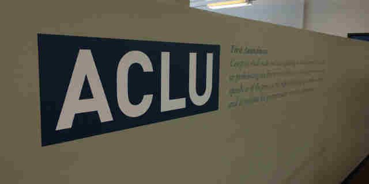 ACLU files suit on behalf of several protesters