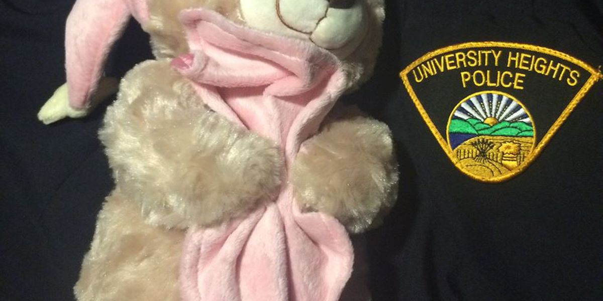 University Heights police officers now armed with teddy bears