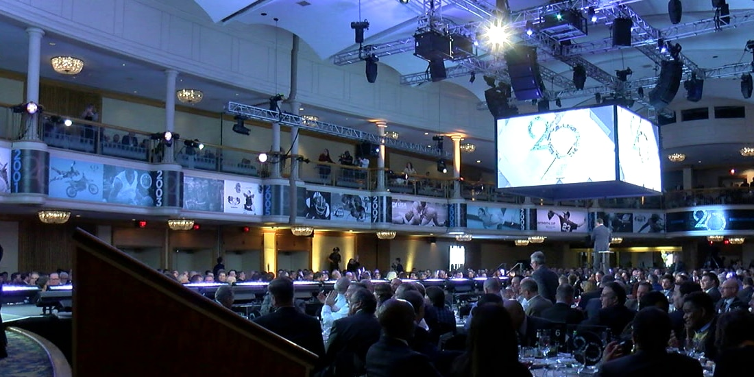 Cleveland sports scene gets it's gala