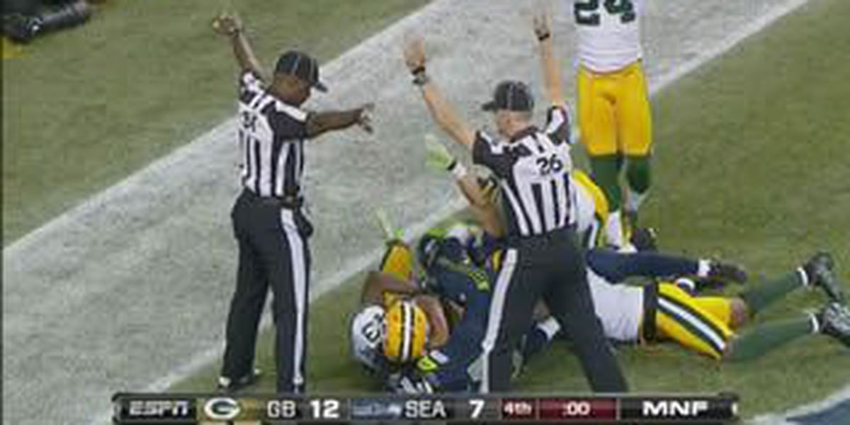 Monday Night Mess: Replacement refs questionable call