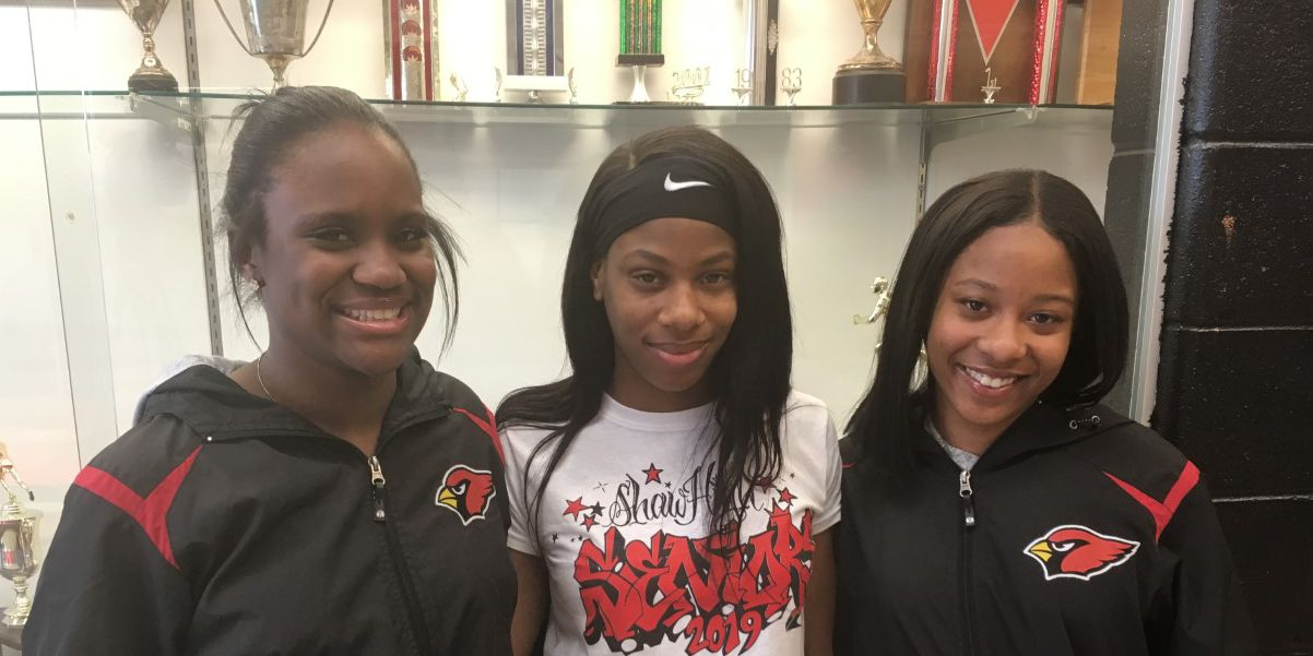 Track trio from Shaw High taking their talents to the next level
