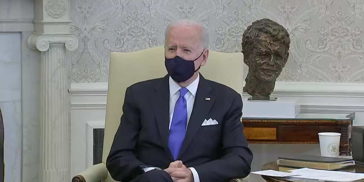 Biden disagrees with states rolling back COVID-19 restrictions