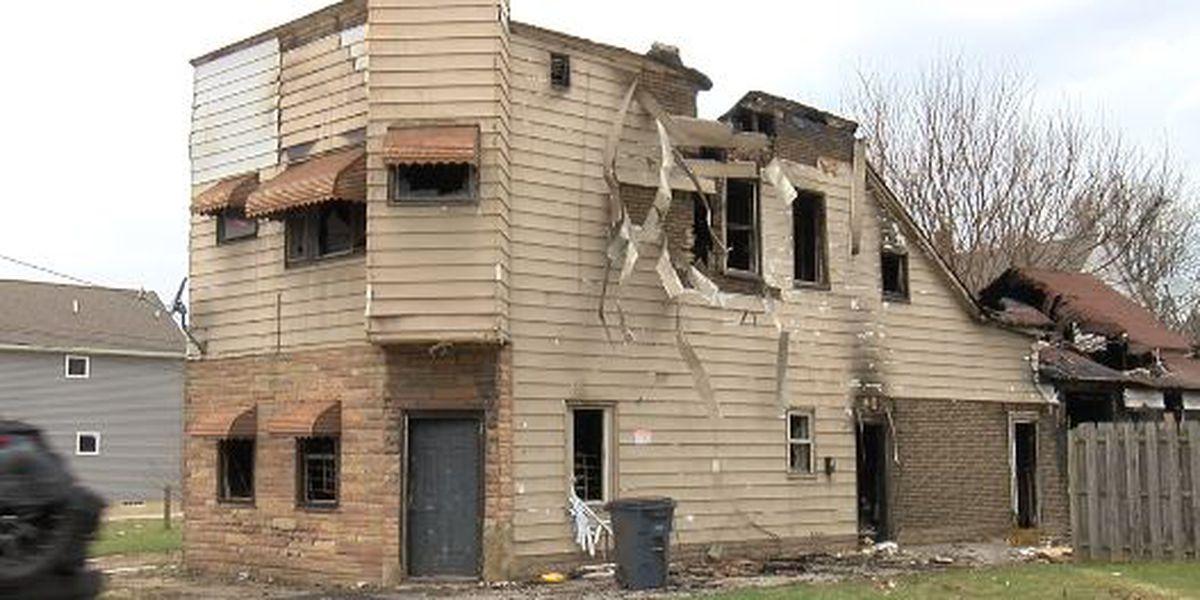 Illegal dumping eyesore in Slavic Village worsens with arson