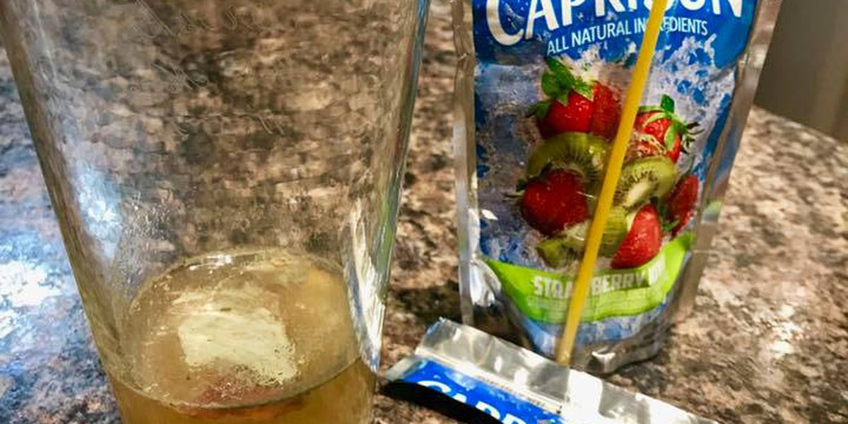 Father issues warning after allegedly finding mold in child's Capri Sun juice