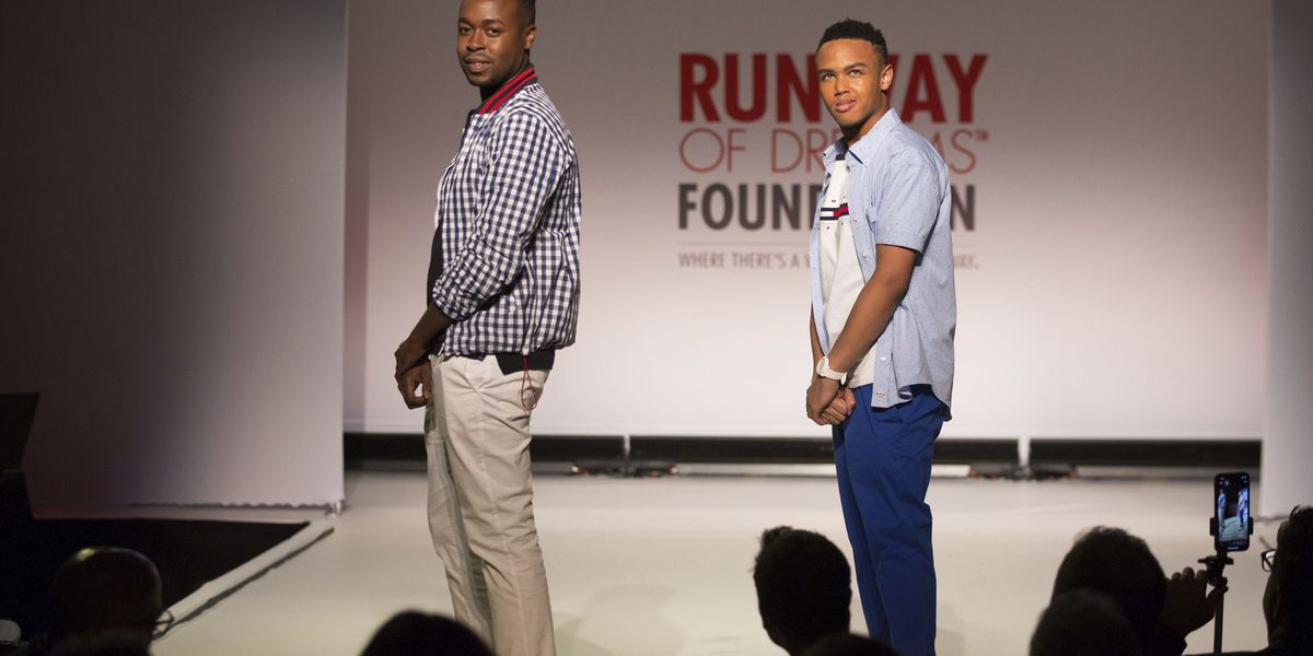 Clothes for people with disabilities highlighted on catwalk