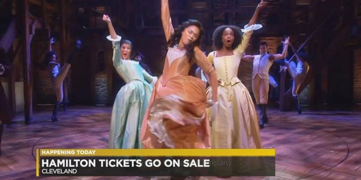 Broadway comes to Cleveland: 'Hamilton' tickets go on sale Friday morning