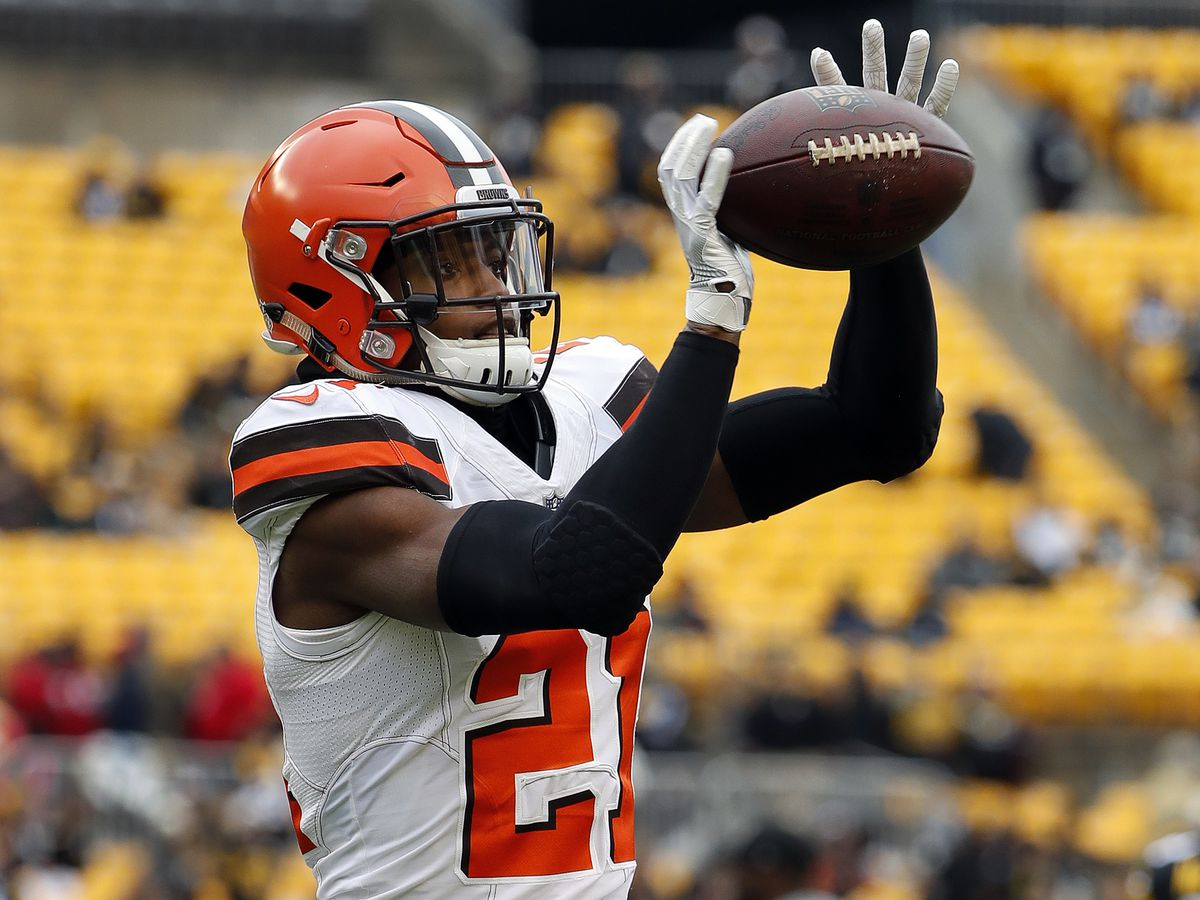 Denzel Ward out against Carolina Panthers with concussion