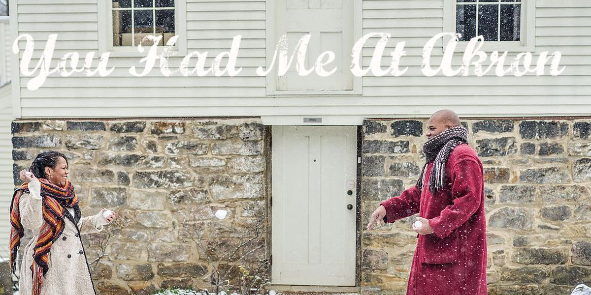 Romantic ad campaign promotes Akron hot spots for couples