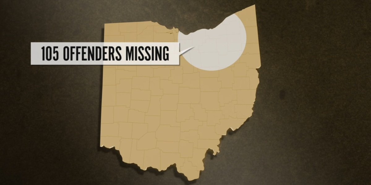 Ohio sees spike in number of sex offenders failing to keep registration current with sheriffs' departments
