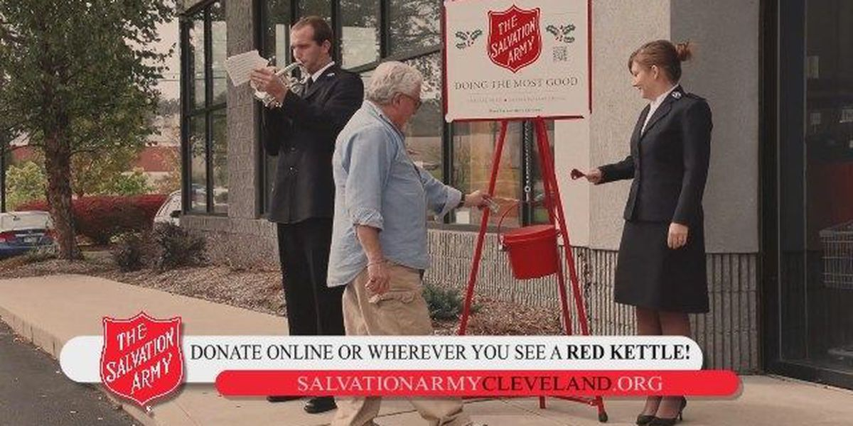 Salvation Army ~ 2017 Cleveland Now: Red Kettle