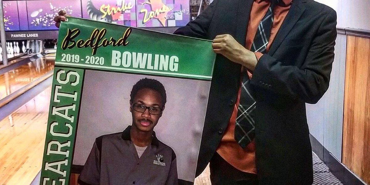 Bedford H.S. bowler creating new lanes