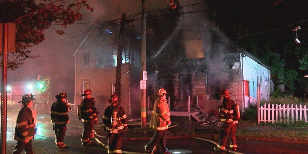 Overnight fire badly damages two west side Cleveland homes