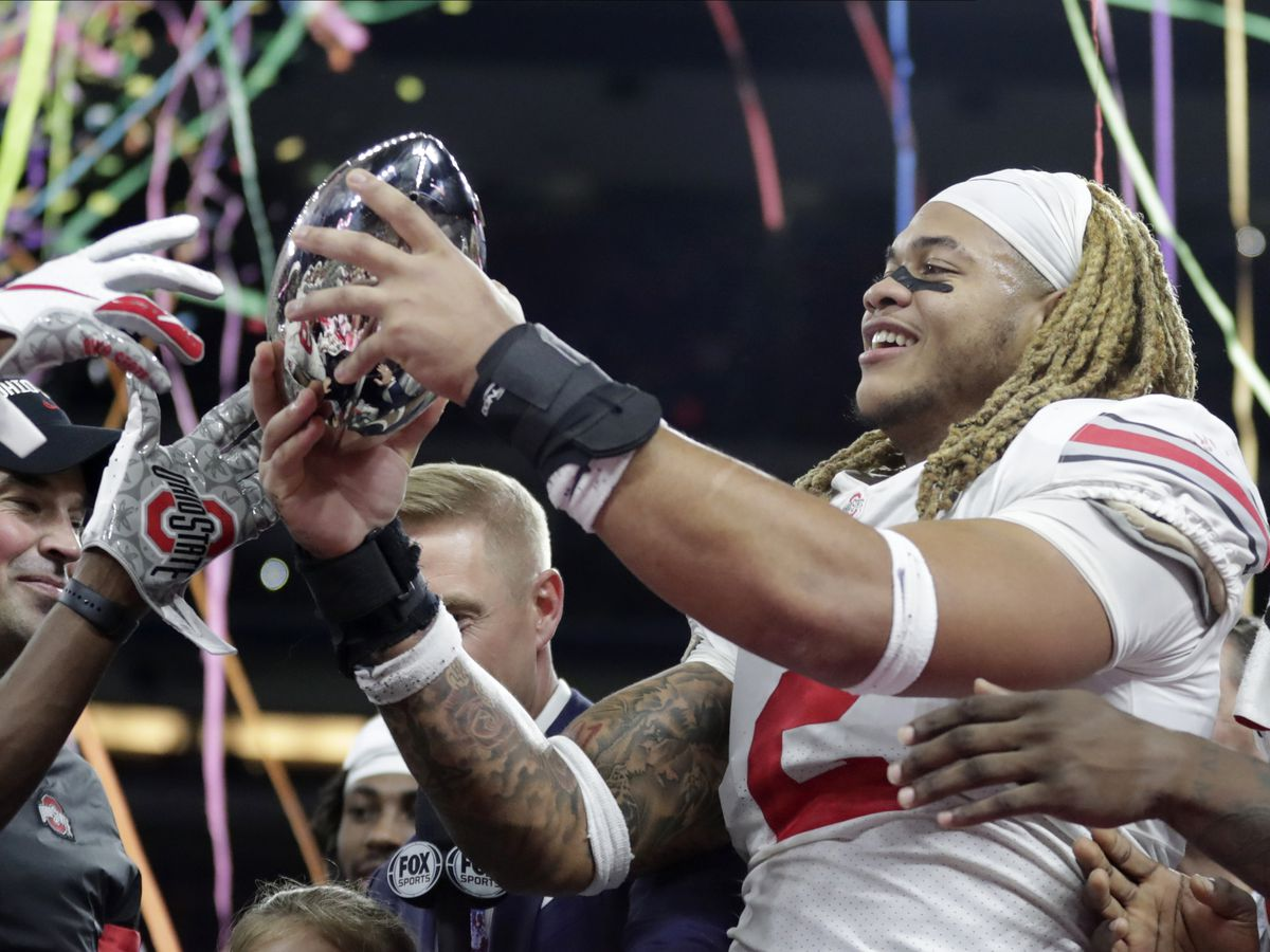 Ohio State's Chase Young and Justin Fields are Heisman Trophy finalists