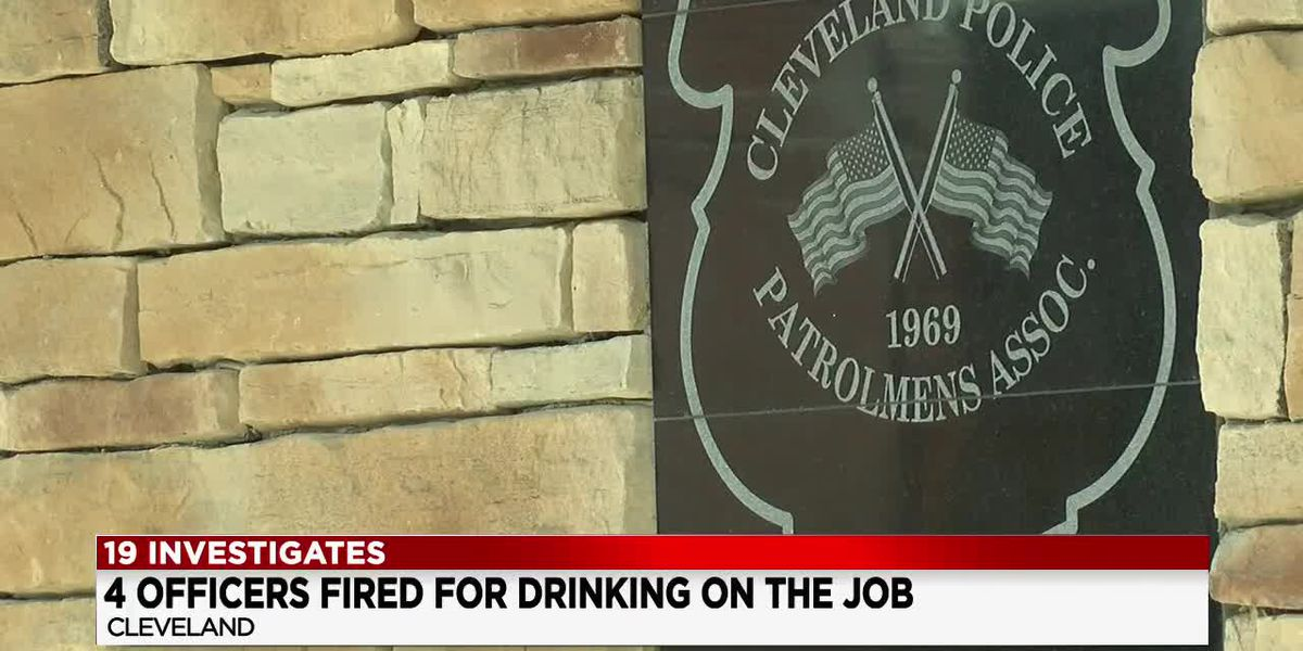 4 Cleveland police officers fired for drinking in a bar during their shifts while in uniform
