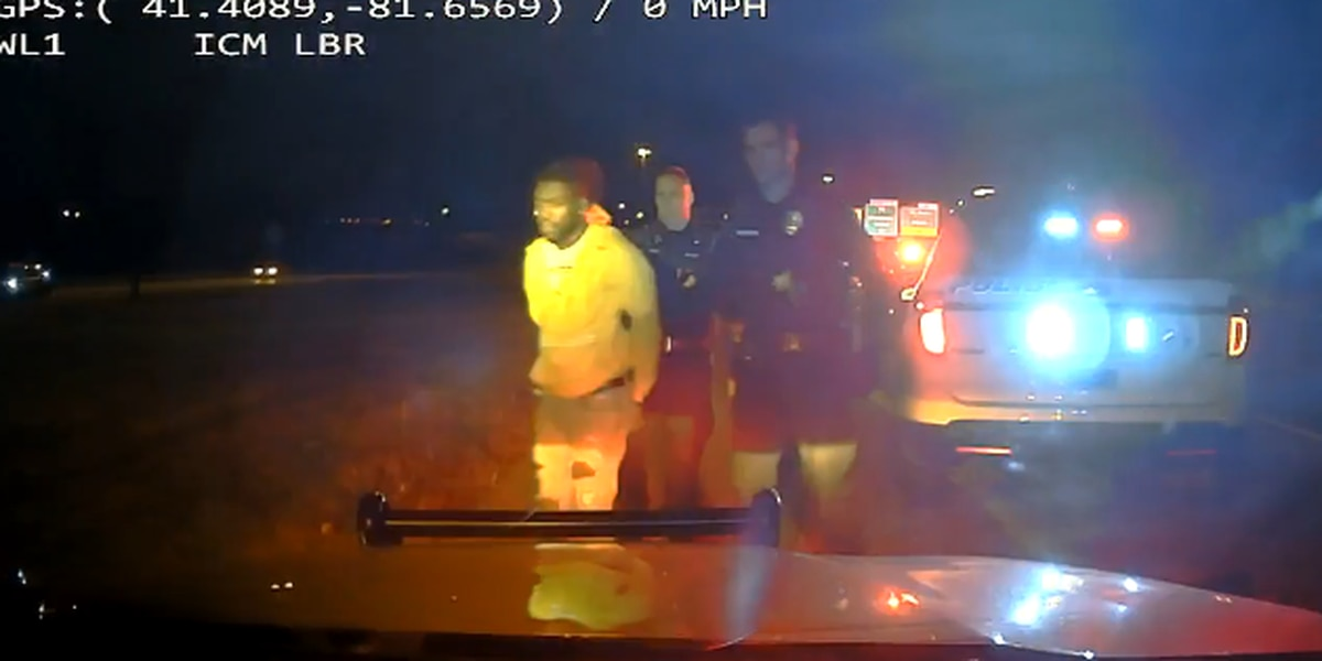 Suspected drunken driver travels the wrong way on I-480 for 7 miles (video)