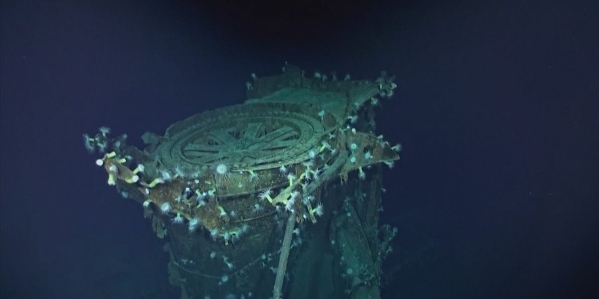 PHOTOS: Deep-sea explorers scouring the world's oceans discover sunken WWII ship in Pacific