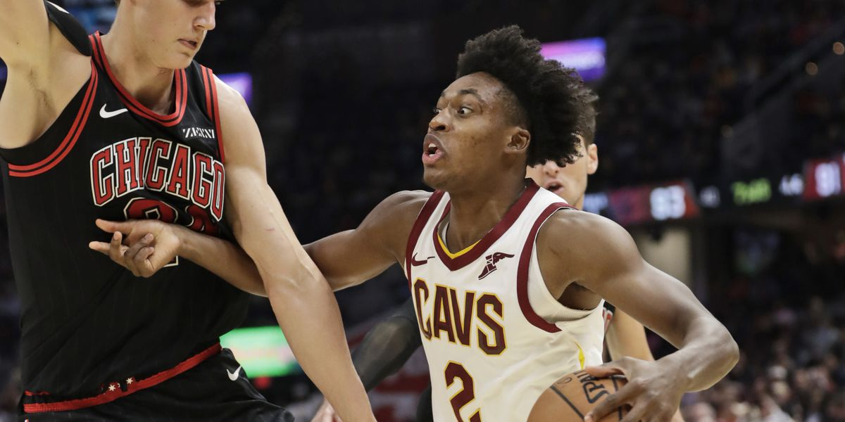 Put this on a poster: Collin Sexton's slam dunk tames Bulls in 117-111 thriller (video)