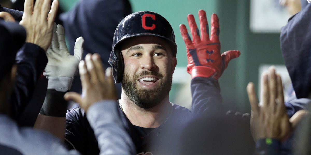 Jason Kipnis' annual shoe toss set for Progressive Field at noon