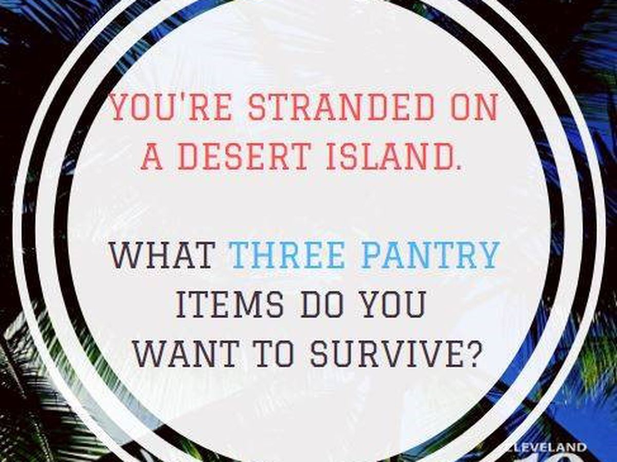 What pantry items would you want with you on a desert island? A debate with the Taste Buds