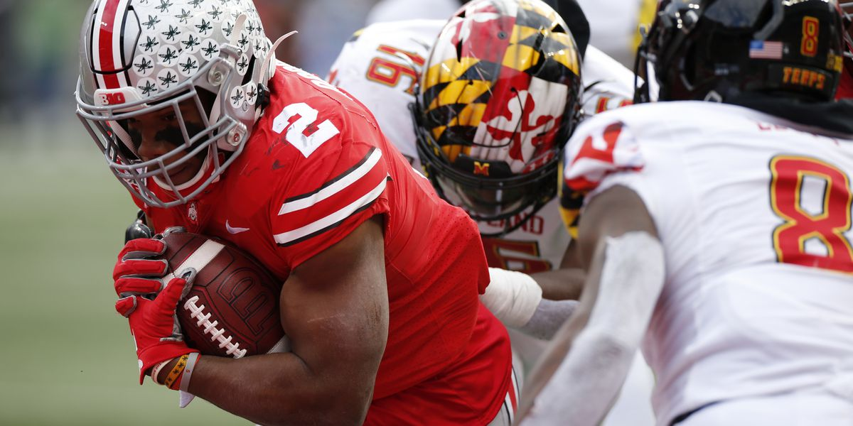 Fields, No. 3 Ohio State overwhelm Maryland 73-14