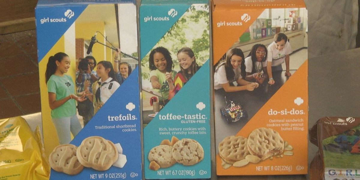 Charity gives away 5,000 boxes of unsold cookies to teachers